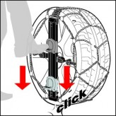 Sněhové řetězy Konig (Thule) Easy-fit CU-9 rozměr 050