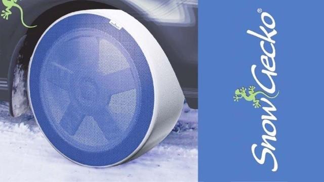 Zimní řetězy SnowGecko na osobní vozy, dodávky, SUV a nákladní vozy.